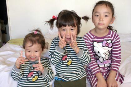 日仏ハーフの子供たち
